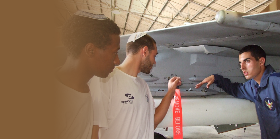 Providing opportunities for  Ultra Orthodox and Ethiopian youth as technicians in the IAF